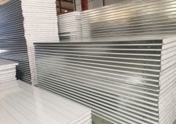 Environmental-White-Color-Bond-Light-Weight-Steel-EPS-Foam-Sandwich-Panel-for-Fast-Construction-Labor-Houses-Porjects